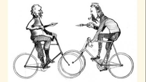 """Il """"duello in bici"""" a Milano Marittima"""