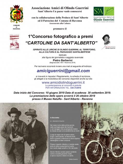 """Concorso Fotografico """"Cartoline da Sant'Alberto"""""""