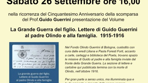 La grande guerra del figlio di Olindo Guerrini